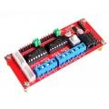 Контроллер двигателей 4-х канальный на 2-х L293D