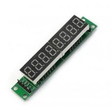 Модуль LED индикаторов. 8 знакомест