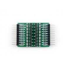 8и канальный преобразователь уровней на транзисторах