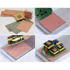 Лист теплопроводящий диэлектрический 150х100х1,0мм