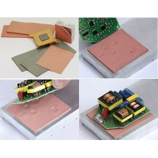Лист теплопроводящий диэлектрический 150х100х2,0мм