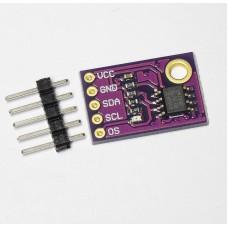 Датчик температуры на LM75A с интерфейсом I2C
